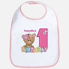 Baby First Birthday Cute Bib