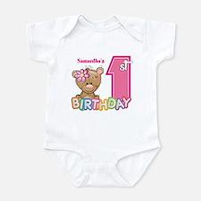 Baby First Birthday Cute Infant Bodysuit