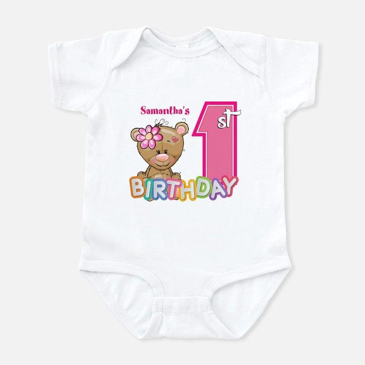 Baby First Birthday Cute Onesie