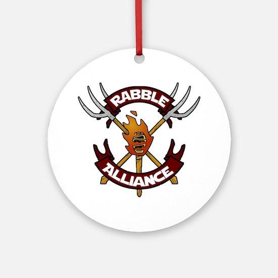 Unique Alliance Round Ornament