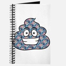 hologram poop emoji Journal
