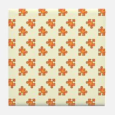 PUZZLE PIECES Tile Coaster
