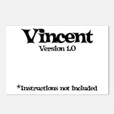 Vincent Version 1.0 Postcards (Package of 8)