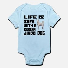 Life Is Safe With A Jindo Infant Bodysuit