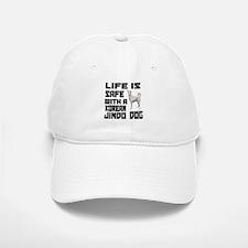 Life Is Safe With A Jindo Baseball Baseball Cap