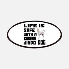 Life Is Safe With A Jindo Patch