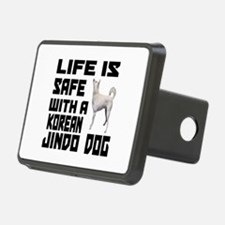 Life Is Safe With A Jindo Hitch Cover