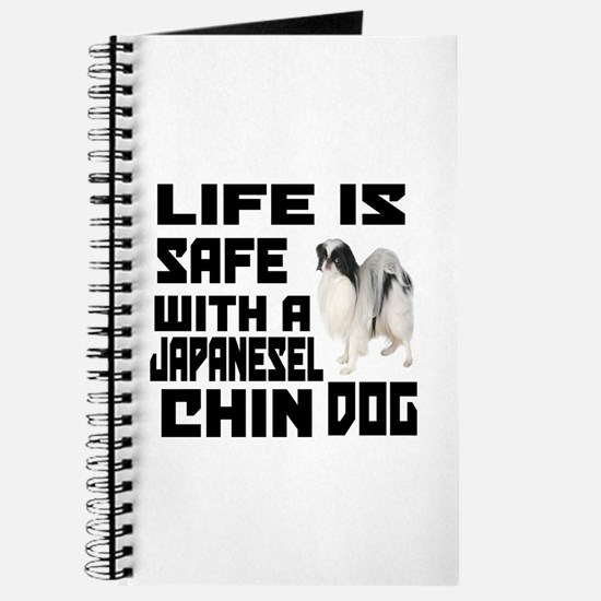 Life Is Safe With A Japanese Chin Journal