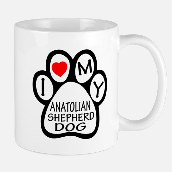 I Love My Anatolian Shepherd dog Mug