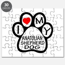 I Love My Anatolian Shepherd dog Puzzle