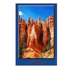 Bryce Hoodoos Postcards (Package of 8)