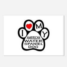 I Love My American Water Postcards (Package of 8)