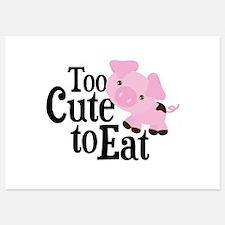 Vegan Pig Invitations
