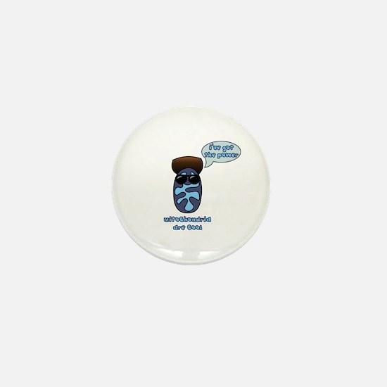 Mitochondria Mini Button