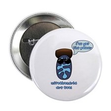 "Mitochondria 2.25"" Button (10 pack)"