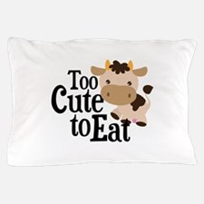 Vegan Cow Pillow Case