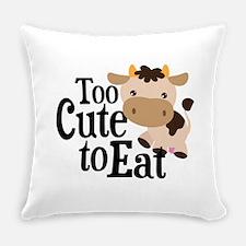 Vegan Cow Everyday Pillow
