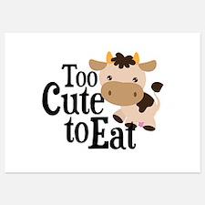 Vegan Cow Invitations