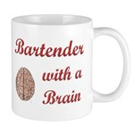 Bartender With Brain Mug