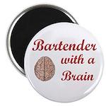 Bartender With Brain Magnet