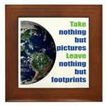 The Earth Framed Tile