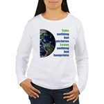 The Earth Women's Long Sleeve T-Shirt