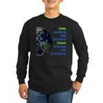 The Earth Long Sleeve Dark T-Shirt