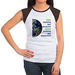 The Earth Women's Cap Sleeve T-Shirt