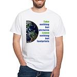 The Earth White T-Shirt