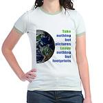 The Earth Jr. Ringer T-Shirt