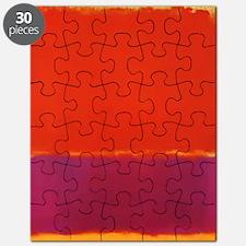 ROTHKO PURPLE ORANGE YELLOW Puzzle