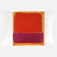 ROTHKO PURPLE ORANGE YELLOW Pillow Case