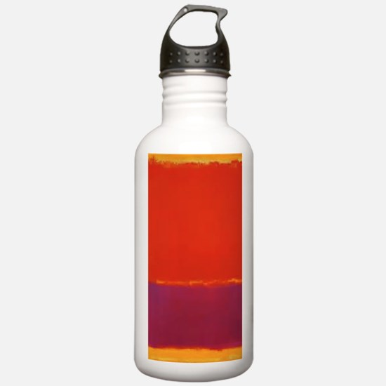 ROTHKO PURPLE ORANGE YELLOW Water Bottle
