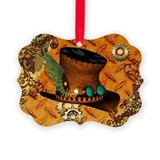 Steampunk Picture Frame Ornaments