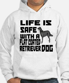 Life Is Safe With A Flat-Coated Hoodie