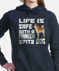 Life Is Safe With A Finn Women's Hooded Sweatshirt