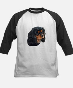 Black and Tan Cavalier King Charle Baseball Jersey