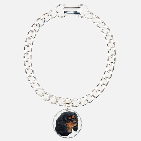 Black and Tan Cavalier K Bracelet