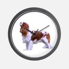 Blenheim Cavalier King Charles Spaniel Wall Clock