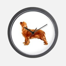 Ruby Cavalier King Charles Spaniel Wall Clock