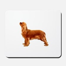 Ruby Cavalier King Charles Spaniel Mousepad
