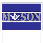 Masons Yard Sign