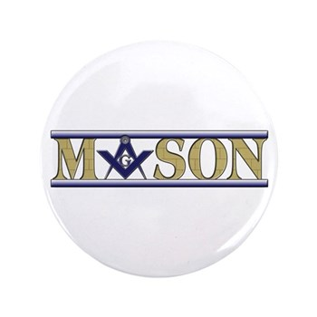 "Masons 3.5"" Button (100 pack)"