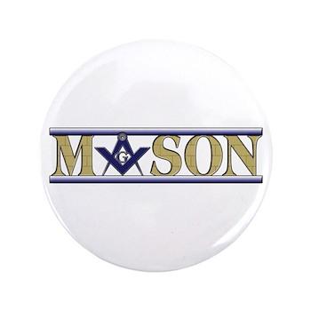 """Masons 3.5"""" Button"""