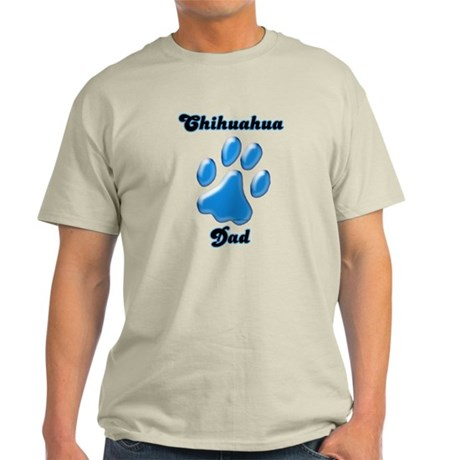 Chihuahua Dad3 Light T-Shirt