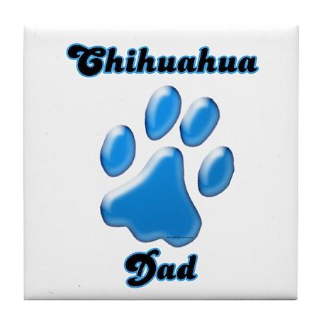 Chihuahua Dad3 Tile Coaster