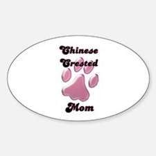 Crested Mom3 Oval Decal