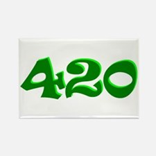 420 Rectangle Magnet