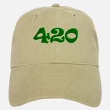 420 Baseball Baseball Cap