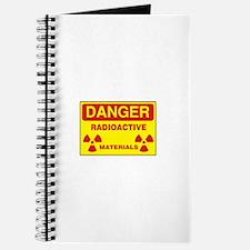 DANGER - RADIOACTIVE ELEMENTS! Journal